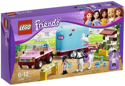 LEGO Friends Emma's Horse Trailer Exclusive Set #3186