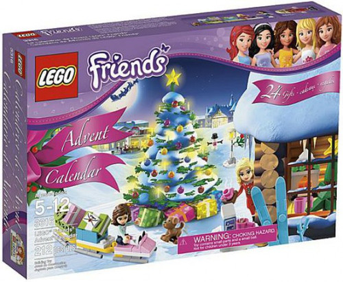 LEGO Friends 2012 Advent Calendar Set #3316