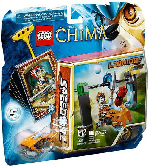 LEGO Legends of Chima CHI Waterfall Set #70102