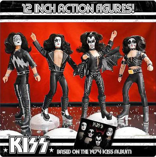 KISS Deluxe Series 2 Set of 4 12 Inch Action Figures