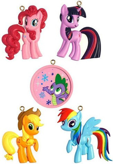 My Little Pony 5-Piece Ornament Set