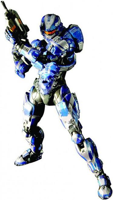 Halo 4 Play Arts Kai Series 1 Spartan Warrior Action Figure [Blue]