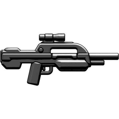 BrickArms XBR3 Experimental Battle Rifle #3 2.5-Inch #3 [Black]