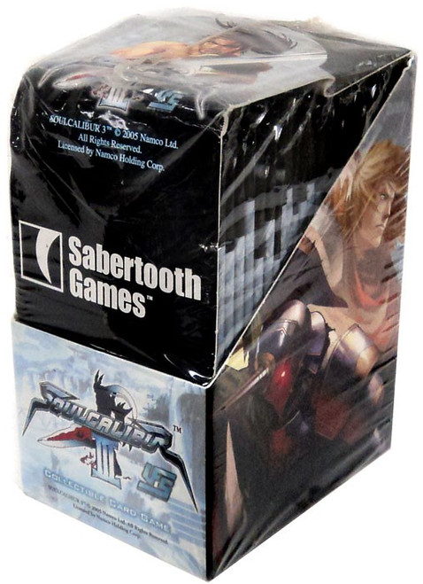 Universal Fighting System Soul Calibur III Premiere Booster Box