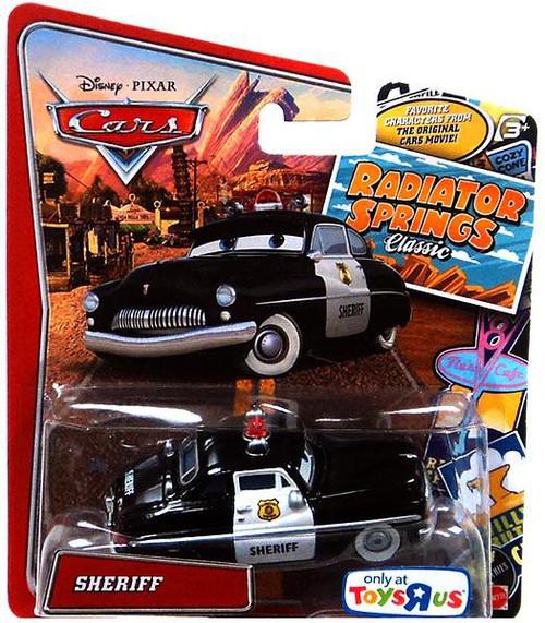 Disney / Pixar Cars Radiator Springs Classic Sheriff Exclusive Diecast Car