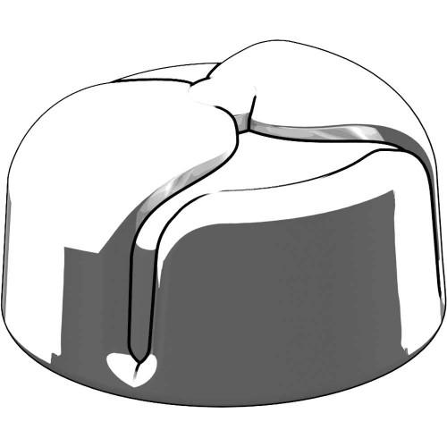 BrickArms Ushanka Helmet 2.5-Inch [White]