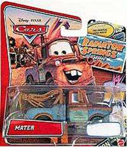 Disney / Pixar Cars Radiator Springs Classic Mater Exclusive Diecast Car