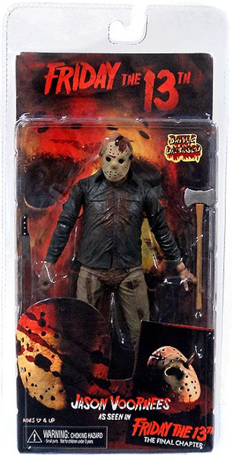 NECA Friday the 13th The Final Chapter Series 2 Jason Voorhees Action Figure [Double Headed Axe]