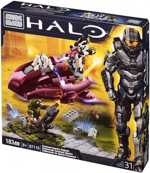 Mega Bloks Halo Covenant Spectre Ambush Set #97110