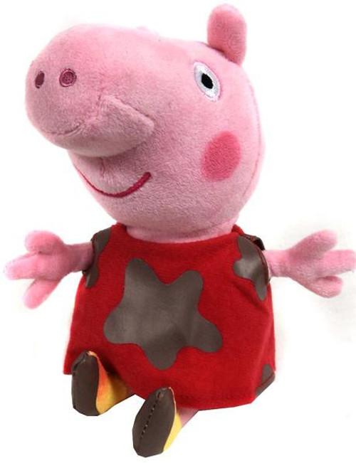 Beanie Babies Peppa Pig Muddy Baby Peppa Exclusive Beanie Plush