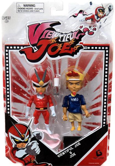 Viewtiful Joe & Joe Action Figure 2-Pack