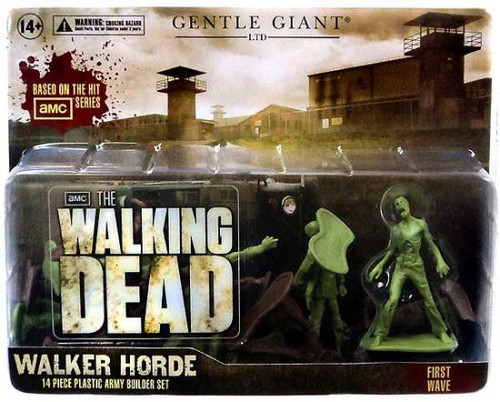 The Walking Dead AMC TV Army Men Walker Horde Army Men Set