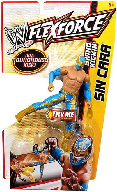 WWE Wrestling FlexForce Swing Kickin' Sin Cara Action Figure