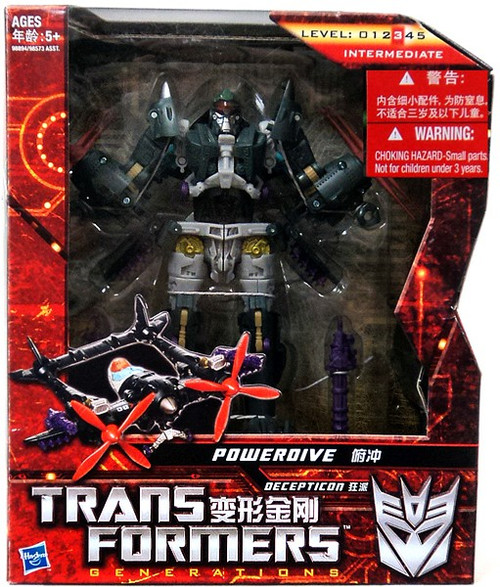 Transformers Generations Powerdive Voyager Action Figure