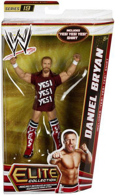 WWE Wrestling Elite Collection Series 19 Daniel Bryan Action Figure [Yes! Yes! Yes! shirt]