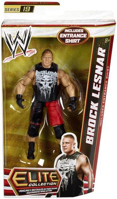 WWE Wrestling Elite Collection Series 19 Brock Lesnar Action Figure [Entrance Shirt]