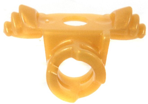 LEGO Gold Shoulder Guard With Back Clip Loose Weapon [Loose]