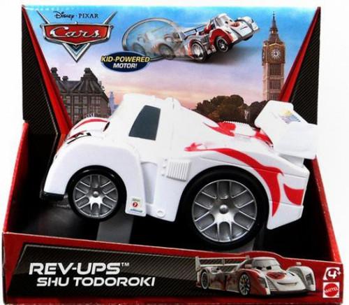 Disney / Pixar Cars Rev-Ups Shu Todoroki Plastic Car