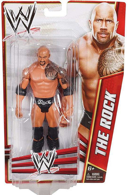 WWE Wrestling Signature Series 2012 The Rock Action Figure