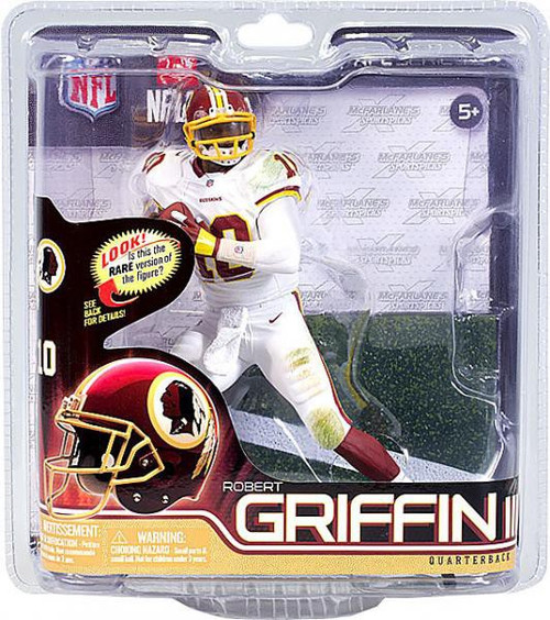 McFarlane Toys NFL Washington Redskins Sports Picks Series 31 Robert Griffin III Action Figure [White Jersey & White Pants]
