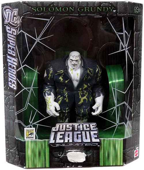 DC Justice League Unlimited Super Heroes Solomon Grundy Exclusive Action Figure [Slime Variant]