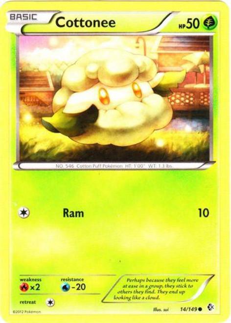 Pokemon Black & White Boundaries Crossed Common Cottonee #14