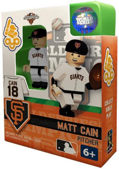 San Francisco Giants MLB 2012 World Series Champions Matt Cain Minifigure