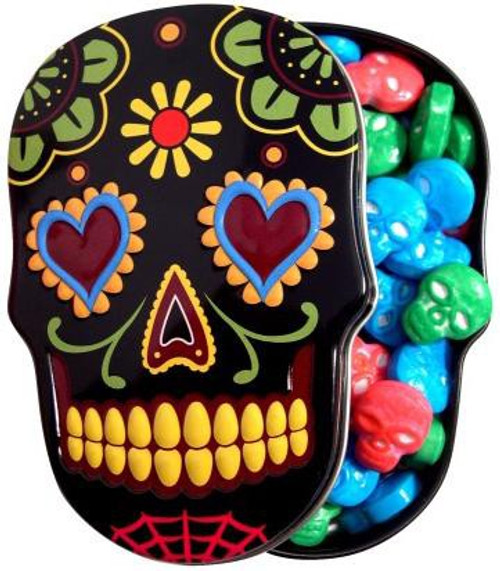 Sugar Skull Candy Tin [Black]