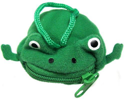Naruto Mini Plush Frog Pouch Keychain