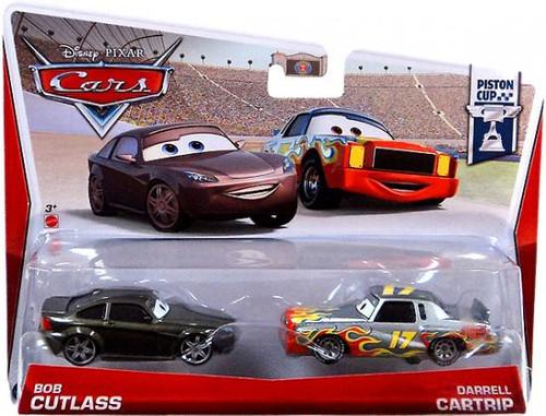 Disney / Pixar Cars Series 3 Bob Cutlass & Darrell Cartrip Diecast Car 2-Pack