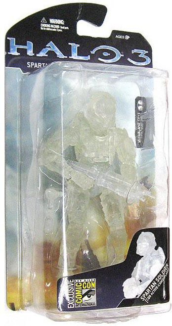 McFarlane Toys Halo 3 Series 3 Spartan Soldier CQB Exclusive Action Figure [Active Camouflage]