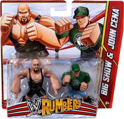 WWE Wrestling Rumblers Series 3 Big Show & John Cena Mini Figure 2-Pack