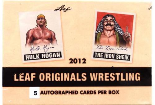 WWE Wrestling WWF 2012 Leaf Originals Wrestling Trading Card Box
