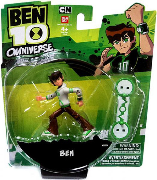 Ben 10 Omniverse Ben Action Figure [16 Years Old, White Hoodie]