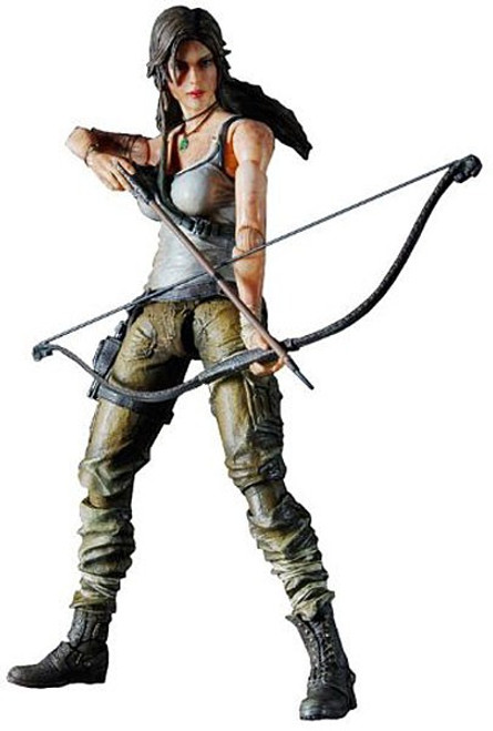Tomb Raider Play Arts Kai Lara Croft Action Figure [2013 Version]