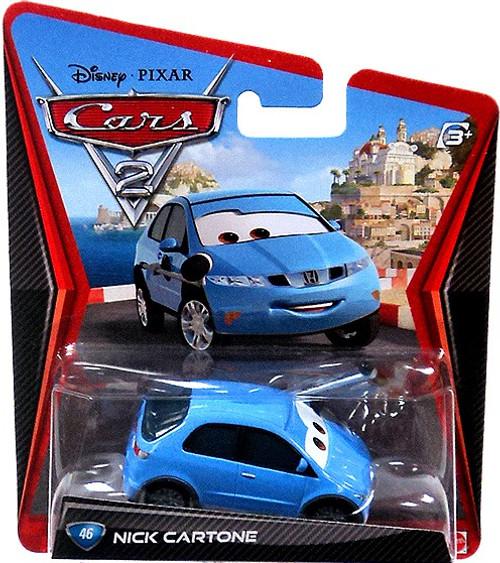 Disney / Pixar Cars Cars 2 Main Series Nick Cartone Diecast Car