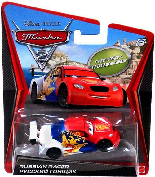 Disney / Pixar Cars Cars 2 Main Series Vitaly Petrov Diecast Car [Russia]