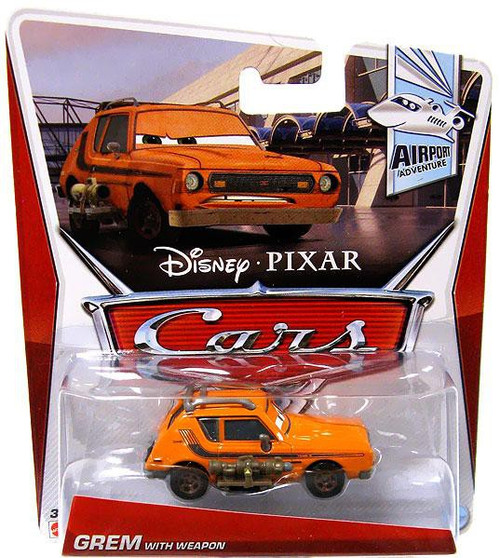 Disney / Pixar Cars Series 3 Grem with Weapon Diecast Car