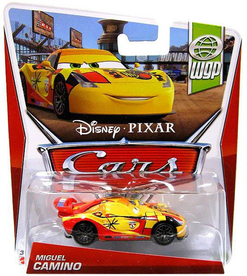 Disney / Pixar Cars Series 3 Miguel Camino Diecast Car
