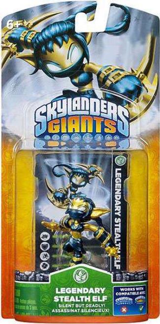 Skylanders Giants Legendary Stealth Elf Figure Pack