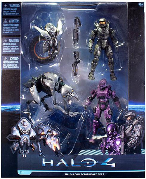 McFarlane Toys Halo 4 Series 1 Halo 4 Collector Boxed Set 2 Exclusive Action Figure Set #2