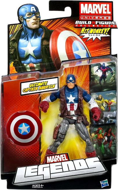 Marvel Legends Hit Monkey Series Ultimate Captain America Action Figure