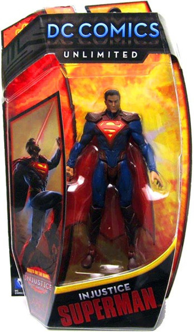DC Comics Unlimited Series 3 Injustice Superman Action Figure