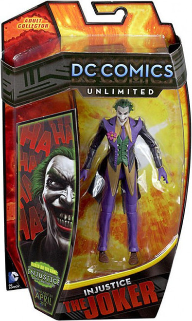 DC Comics Unlimited Series 3 Injutice The Joker Action Figure