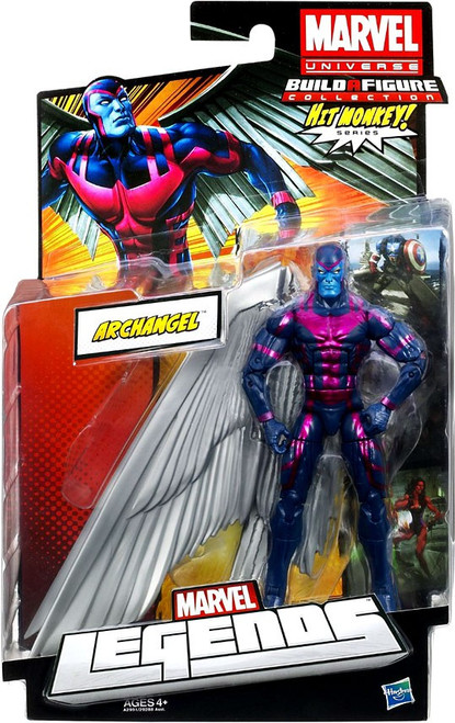 Marvel Legends Hit Monkey Series Archangel Action Figure