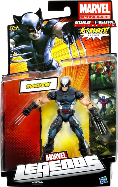 Marvel Legends Hit Monkey Series X-Force Wolverine Action Figure