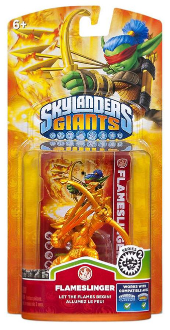 Skylanders Giants Exclusives Flameslinger Exclusive Figure Pack [Golden]