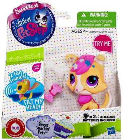 Littlest Pet Shop Sweetest Sweet Snackin Pets Collie Figure