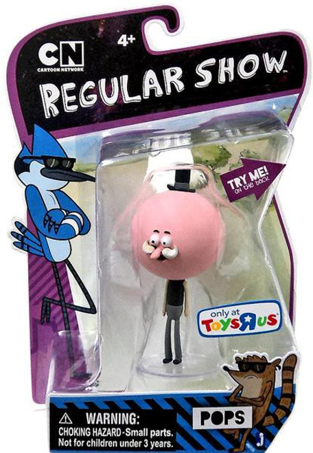 Cartoon Network Regular Show Pops Exclusive Action Figure [Moving Mustache]