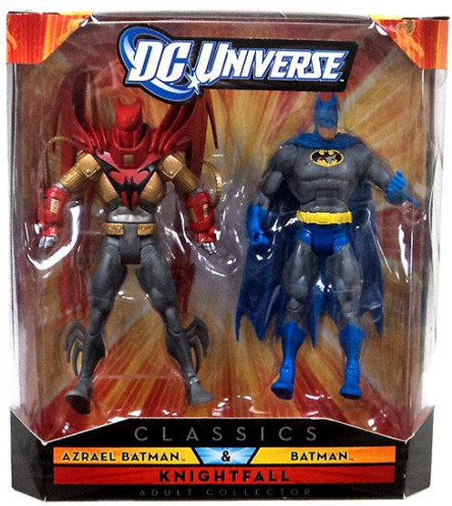 DC Universe Classics Azrael Batman & Batman Exclusive Action Figures